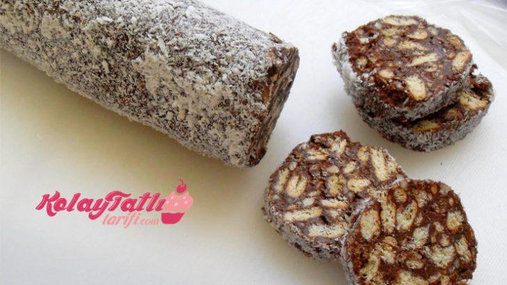Rulo Mozaik Pasta Tarifi