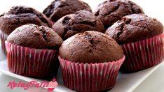 Kakaolu Portakallı Muffin Tarifi