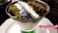 Kupta Çikolata Soslu İrmik Tatlısı Tarifi
