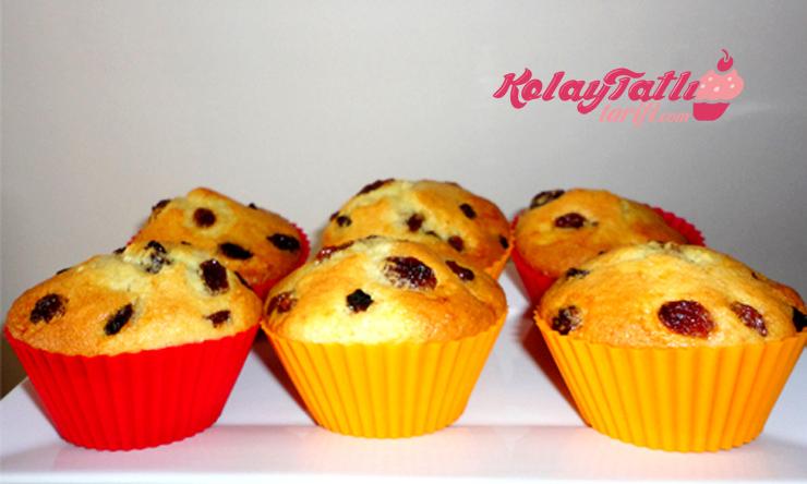 uzumlu muffin