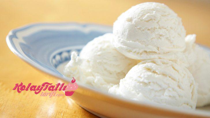 Sade Dondurma Tarifi
