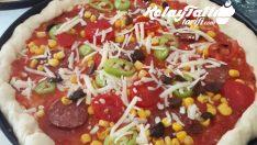 Evde Pizza Yapılışı