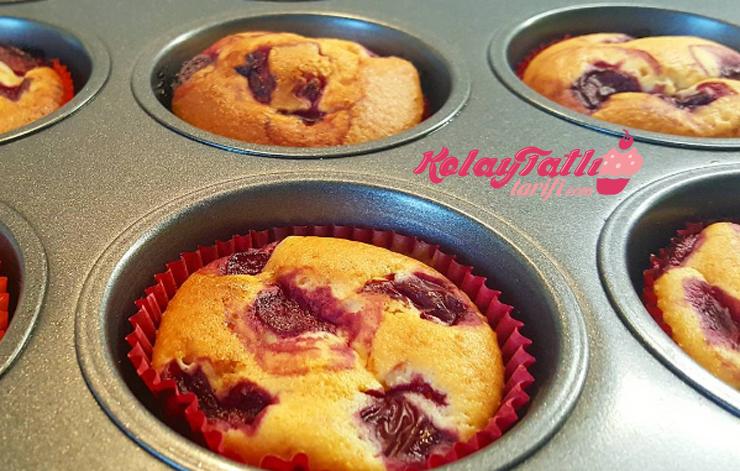 visneli muffin
