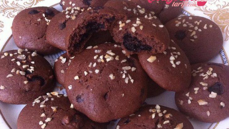Çikolatalı Kek Kurabiye Tarifi