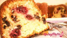 Vişneli Damla Çikolatalı Kek Tarifi