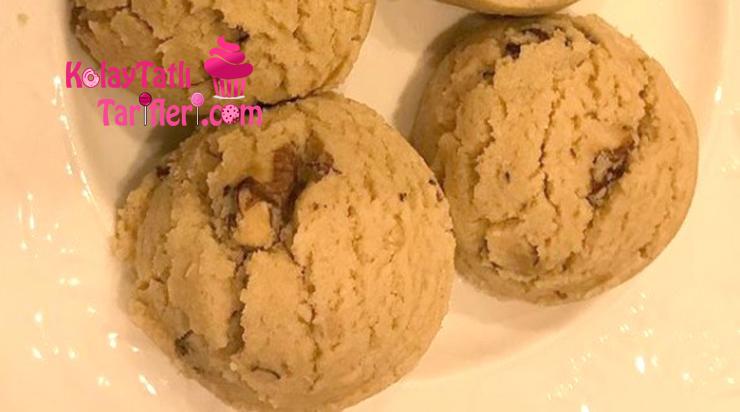tahinli dondurma kurabiye