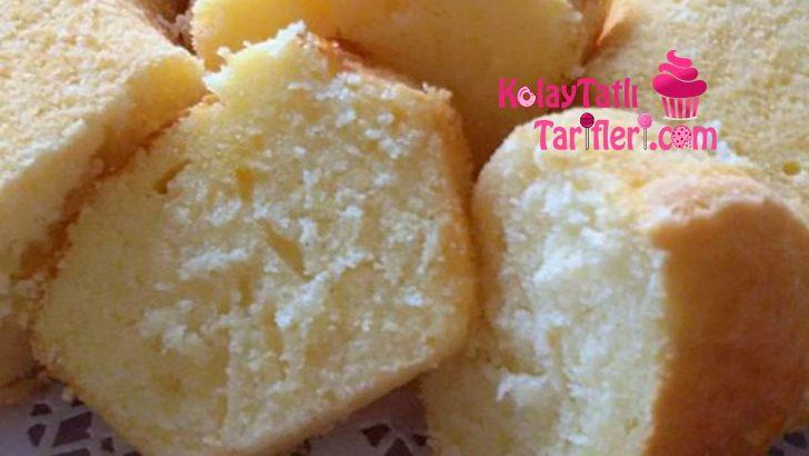 Nişastalı Kremalı Kek Tarifi