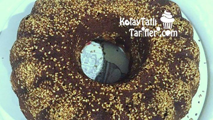Susamlı Kakaolu Kek Tarifi