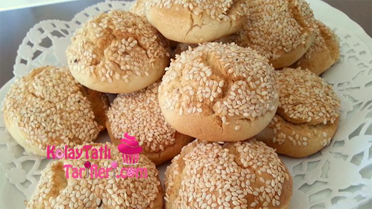 susamli tahinli kurabiye