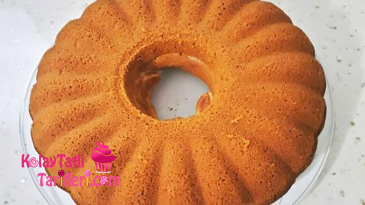 vanilya pudingli kek