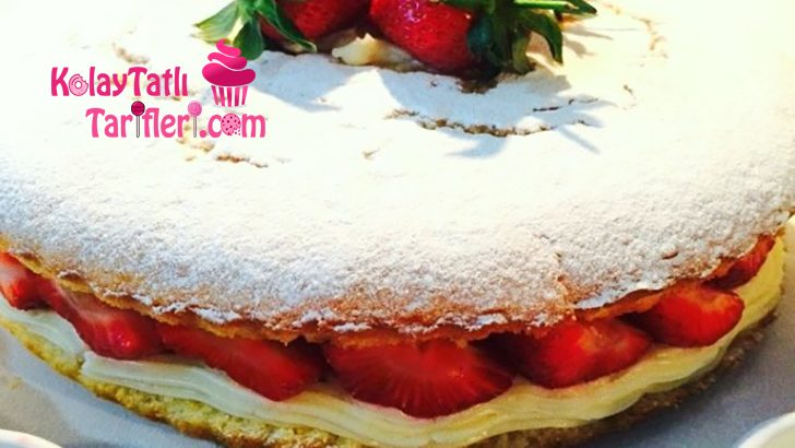 Çilekli Alman Pastası Tarifi