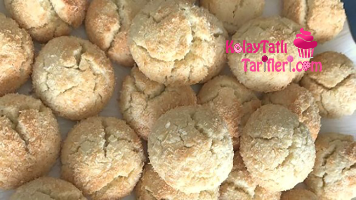 kolay hindistan cevizli kurabiye