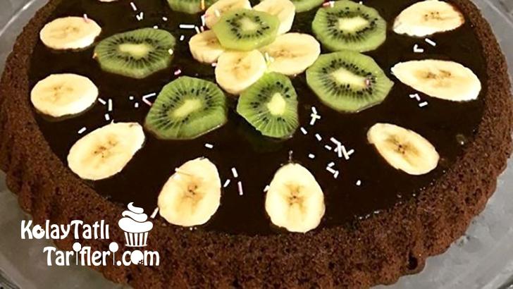 cikolatali tart kek