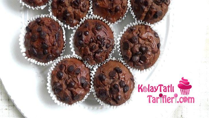 Damla Çikolatalı Fındıklı Muffin