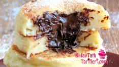 Nutella Dolgulu Pancake