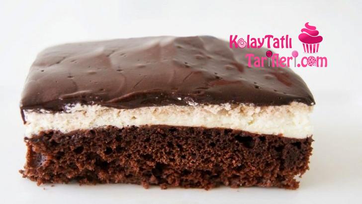 cikolata soslu kek