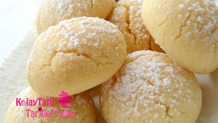 limon aromali kurabiye