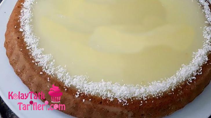 limon soslu tart kek