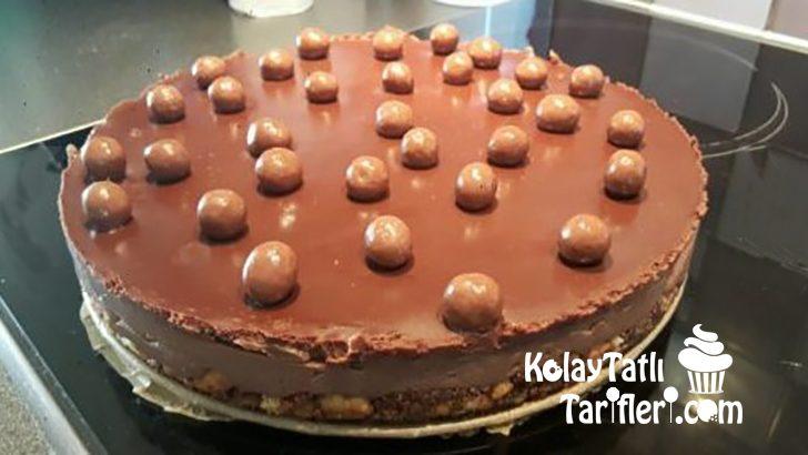 Pişmeyen Çikolatalı Cheesecake