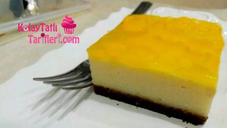 Portakal Soslu Sütlü İrmik Tatlısı