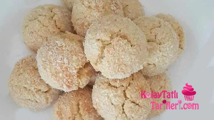 tereyagli hindistan cevizli kurabiye