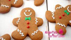 Yılbaşı İçin Gingerbread Kurabiye