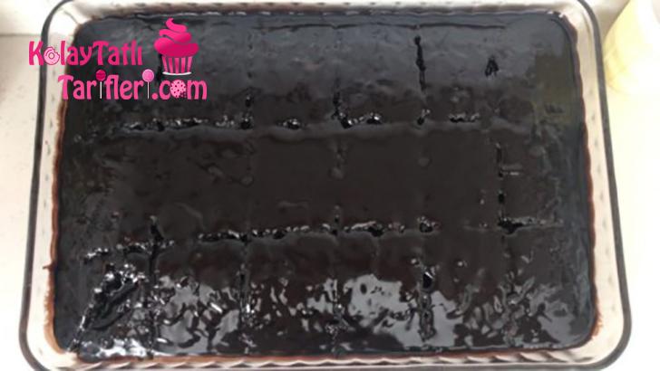 cikolatali islak kek