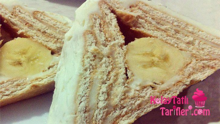 Muzlu Pudingli Piramit Pasta