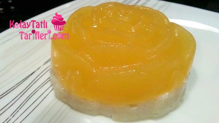 Portakal Jöleli İrmik Tatlısı