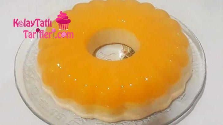 Portakallı Sütlü İrmik Tatlısı