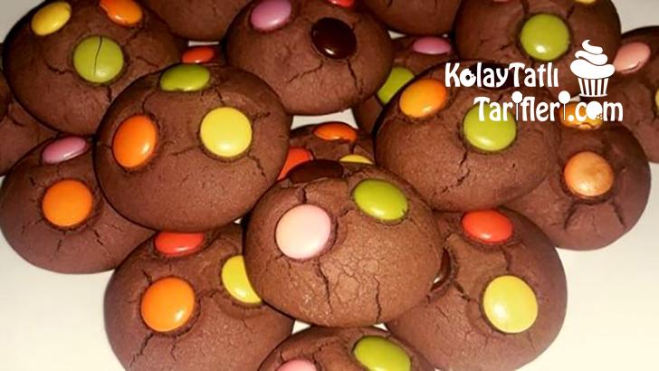 bonibonlu kakaolu kurabiye