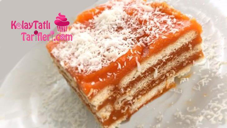 Havuçlu Bisküvili Pasta