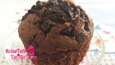 Sodalı Çikolatalı Muffin