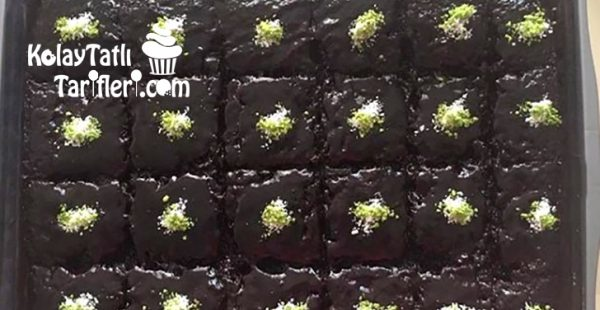Kremalı Soslu Islak Kek