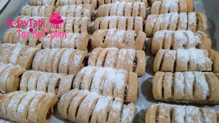 elmali serit kurabiye
