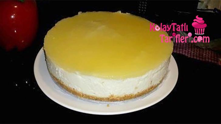 irmikli kolay cheesecake
