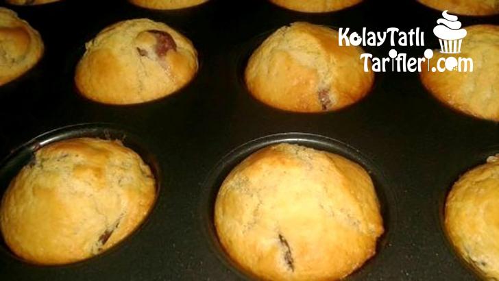 misir unlu kirazli muffin