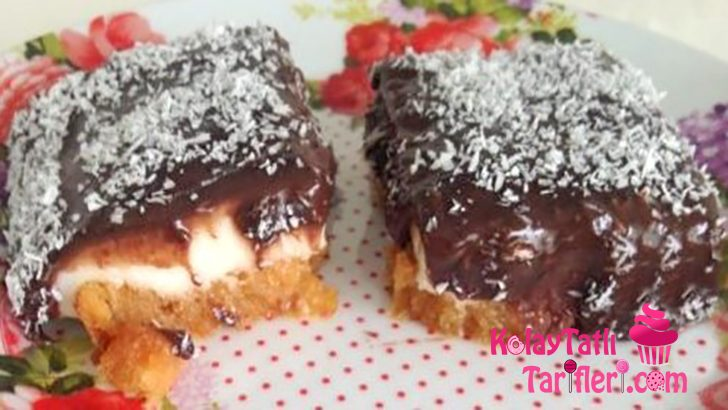 Çikolata Soslu Etimek Tatlısı