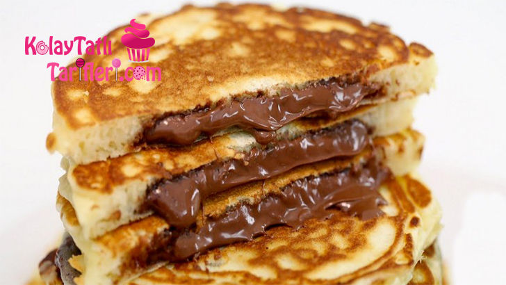 cikolatali pancake