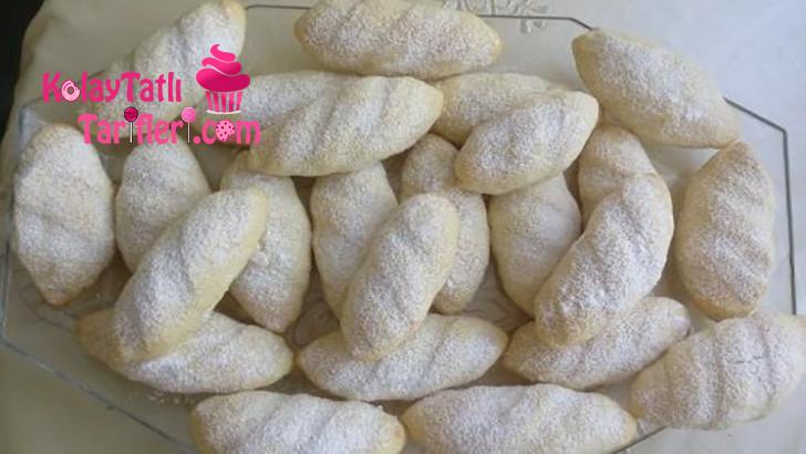 krema dolgulu kurabiye