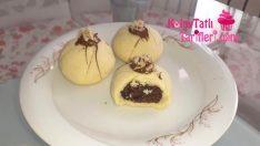 Kakao Dolgulu Kurabiye