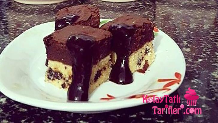 kurabiyeli brownie