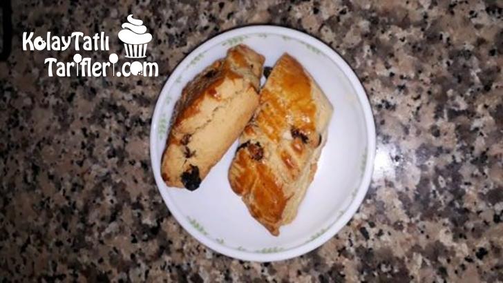 kuru uzumlu pastane kurabiyesi