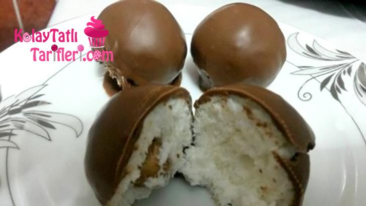 cikolatali hindistan cevizi toplari