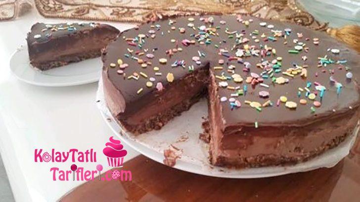 Fırında Pişmeyen Çikolatalı Cheesecake