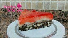 Meyve Soslu Muhallebili Mozaik Pasta