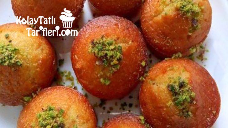 Muffin Kalıbında Revani