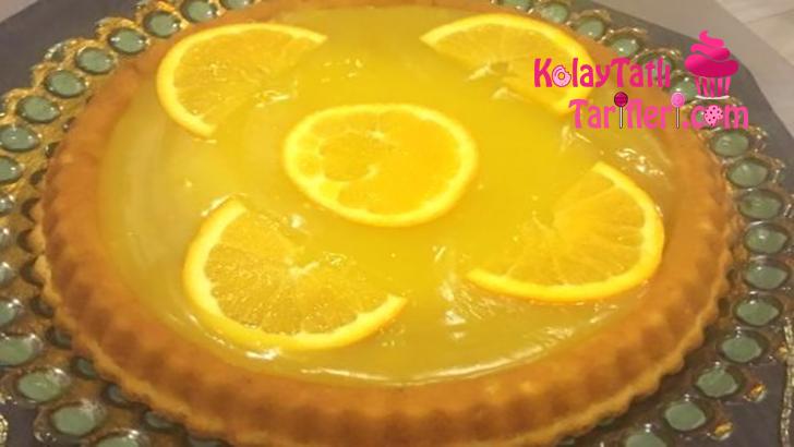 portakalli tart pasta