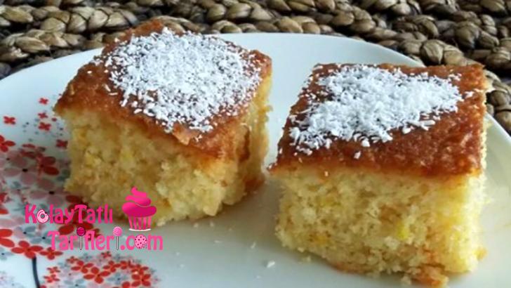 hindistan cevizli islak kek