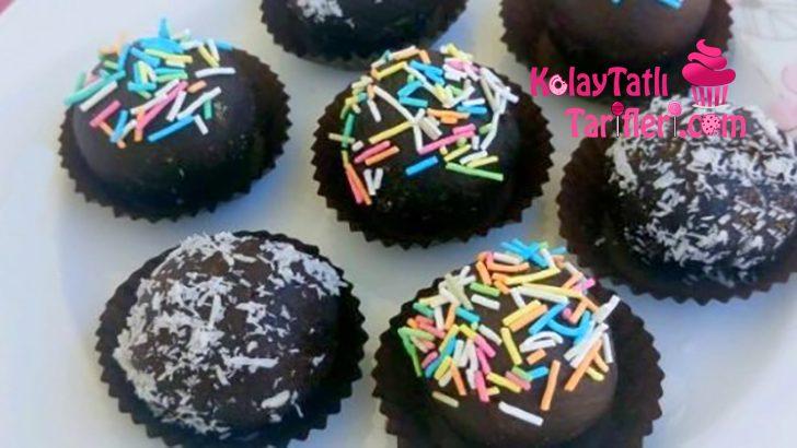 Muzlu Çikolatalı Toplar